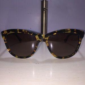 Oliver Peoples Tortoise Sunglasses
